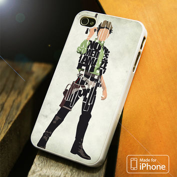 Hans Solo Typography iPhone 4 | 4S, 5 | 5S, 5C, SE, 6 | 6S, 6 Plus | 6S Plus Case