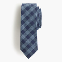 J.Crew Mens Jaspé Cotton Tie In Gingham