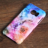 Nebula Floral Samsung Galaxy S7 Edge S7 Case Galaxy S8+  S3 Samsung Note 5/3/2 Cover S7-221