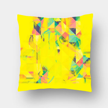 Buy Music Triangle Printed Designer Cushion Cover Online | ChooseyArt