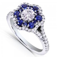 Kobelli One of a kind unique Diamond, Moissanite and gemstone jewelry