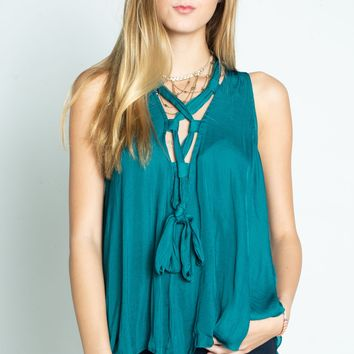 Free People Here With Me Tank