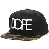DOPE The Dope Logo Strapback Hat in Duck Camo : Karmaloop.com - Global Concrete Culture