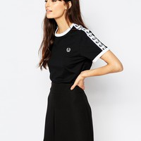 Fred Perry Archive Taped Ringer T-Shirt