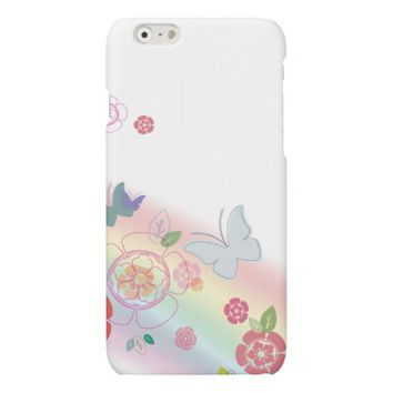 Floral Girly iPhone 6 Case Matte iPhone 6 Case