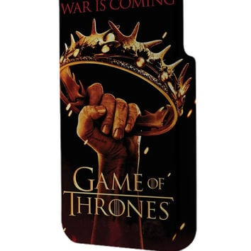 Best 3D Full Wrap Phone Case - Hard (PC) Cover with war is coming game of thrones Design