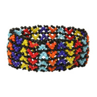 LOVEsick Multicolored Bead Stretch Bracelet