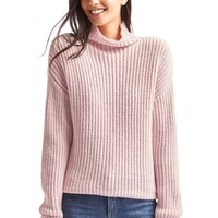Funnel neck shaker sweater | Gap