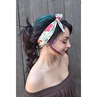 Dolly Bow Flower Headband #G1004