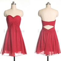 Gorgeous Homecoming Chiffon Dress