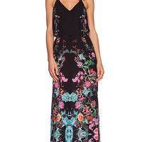 Three of Something Royals Maxi Dress in Black