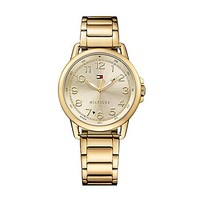 Sport Watch With Gold Bracelet | Tommy Hilfiger USA