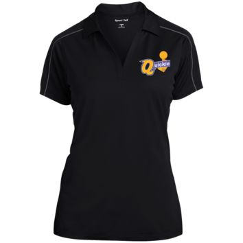 Draymond Green Quickie LST653 Sport-Tek Ladies' Micropique Sport-Wick Piped Polo