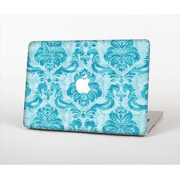 The Delicate Trendy Blue Pattern V4 Skin Set for the Apple MacBook Air 13""