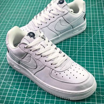 Roc A Fella X Nike Air Force Low 1 Af1 White Sport Shoes - Best Online Sale