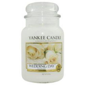 Wedding Day Scented Large Jar Candle 22 Oz