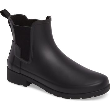 Hunter Refined Chelsea Boot (Women) | Nordstrom