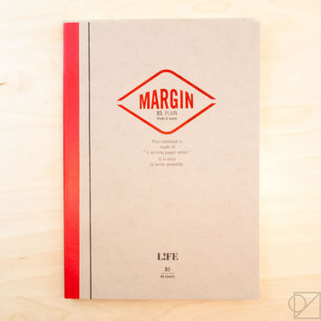LIFE B5 Margin Note Blank