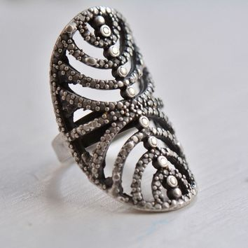 Silver Align Ring