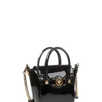 Versace - Patent Mini Signature Bag