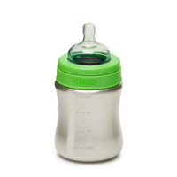 Klean Kanteen 9Oz Medium Flow Stainless Steel Baby Bottle Brushed Stainless One Size For Men 23634414001
