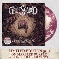 Get Scared Purple/Bone Marble LP : FEAR : Fearless Records