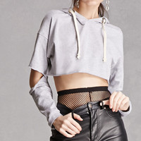 Elbow-Cut Cropped Top