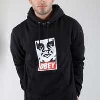 OBEY, OG Face Pullover Hoodie - Outerwear - MOOSE Limited