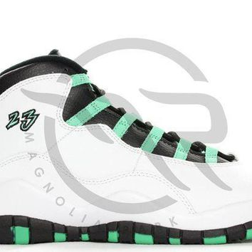 PEAPUX5 AIR JORDAN RETRO 10 30TH GG (GS) - VERDE