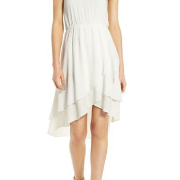 Everly Ruffle Hem Dress | Nordstrom