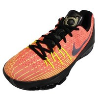 Nike Kid's KD 8 GS, HUNTS HILL SUNRISE-TOTAL ORANGE/BLACK-VOLT-BRIGHT CRIMSON, Youth Size 4