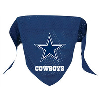 Dallas Cowboys Mesh Dog Bandana (Large)