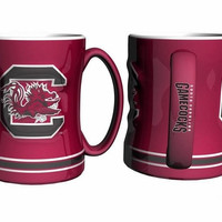 NCAA South Carolina Gamecocks Coffee Mug - 15oz Sculpted