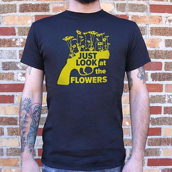 Just Look at the Flowers [The Walking Dead Inspired] Men's T-Shirt