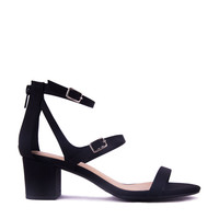 Strappy 2Buckle Heel Sandal