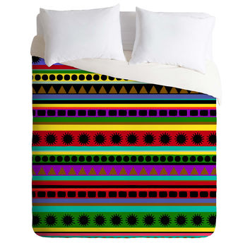 Romi Vega Heavy Pattern Duvet Cover