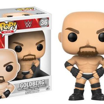Goldberg WWF Pop! WWE Wrestling Vinyl Figure Funko NIB new in box 36 WWF