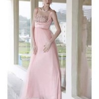 Sweet Square Neck High Waist Diamond Pink Prom Dress [dressca7775] - £94.16 : dressca.com!, custom made wedding dresses