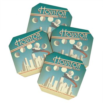 Anderson Design Group Houston Coaster Set
