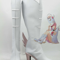 Kill la Kill Nonon Jakuzure Cosplay Shoes Boots  Hand Made Custom Made