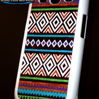 Samsung Galaxy S3 SIII Tribal Natural Pastel Multi Color Print  Case Samsung Galaxy S3
