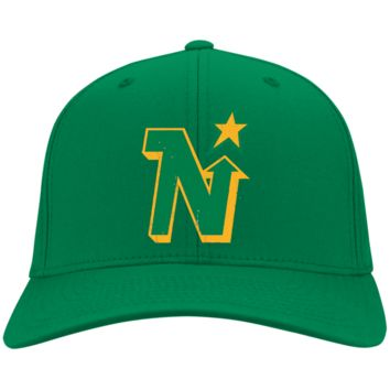Retro Minnesota North Stars Twill Cap