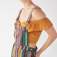 BDG Marcy Striped Overall | Urban Outfitters