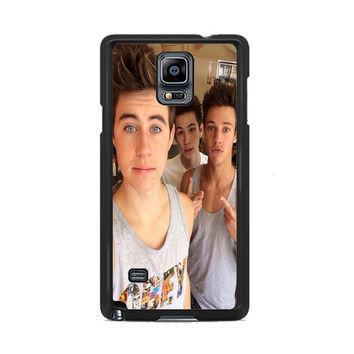 Cameron Dallas And Nash Grier Selffie Samsung Galaxy Note 3 | 4 Cover Cases