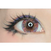 Royal Vision Creamy Purplish Violet Red  Circle Lenses Colored Contacts Cosmetic Color Circle Lens   EyeCandy's