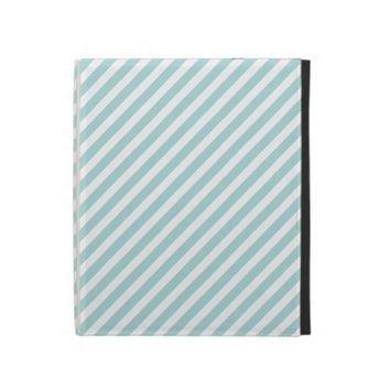 Blue Striped iPad Folio Case