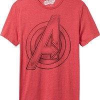 Old Navy Mens Marvel Avengers Tees