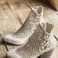 Walk On Latticed Cut Out Boot, Natural | Coconuts by Matisse