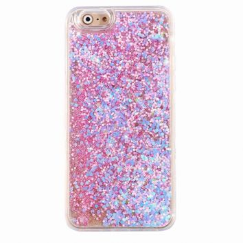 Pink Holographic Glitter iPhone