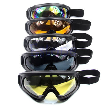 Motorcycle Dustproof Ski Snowboard Sunglasses Goggles Lens Frame Eye Glasses